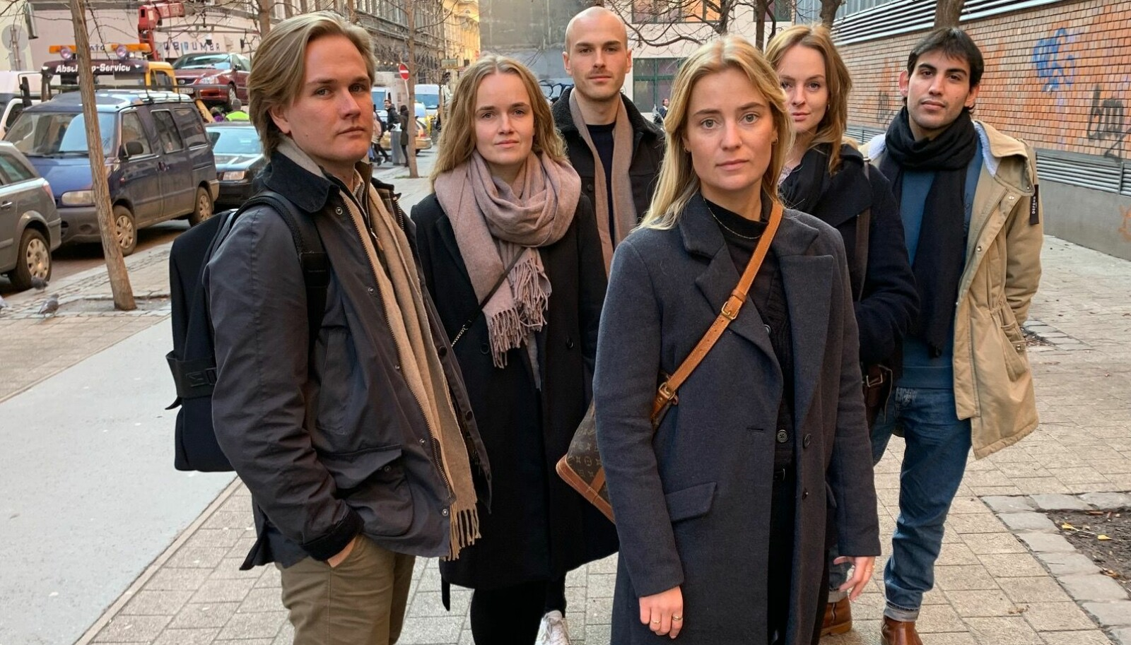 Markus Lien, Malin Moland, Vetle Opaas, Heidi Sundby, Julie Daae og Tomas Larsen.