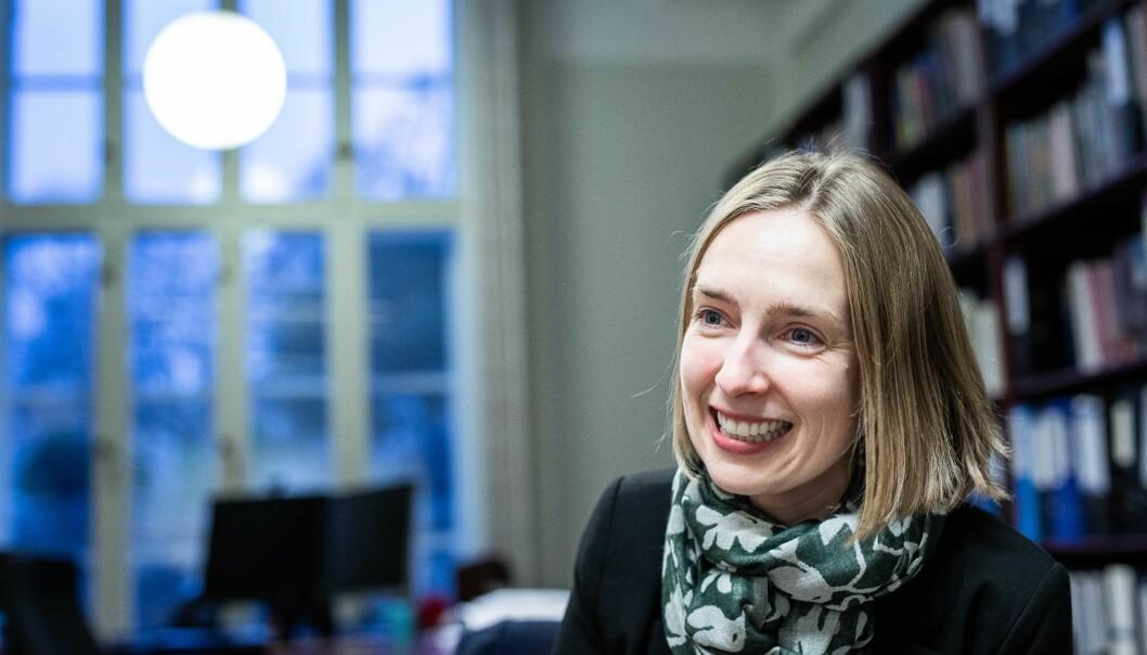 Iselin Nybø er mest spent på klimaarbeidet, Horisont Europa og internajsonalisering av studenter i 2020. Foto: Siri Øverland Eriksen