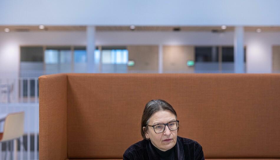 Nytt bygg og ny dekan. Professor Ragnhild Hennum. Foto: Siri Øverland Eriksen
