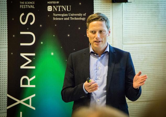 Anders Aune er Head of Industry Relations i NTNU Technology transfer. Foto: Frode Jørum/NTNU