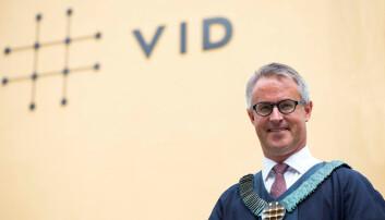 Rektor Baard Mæland ønske mer bærekraft i VID forstand. Foto: VID