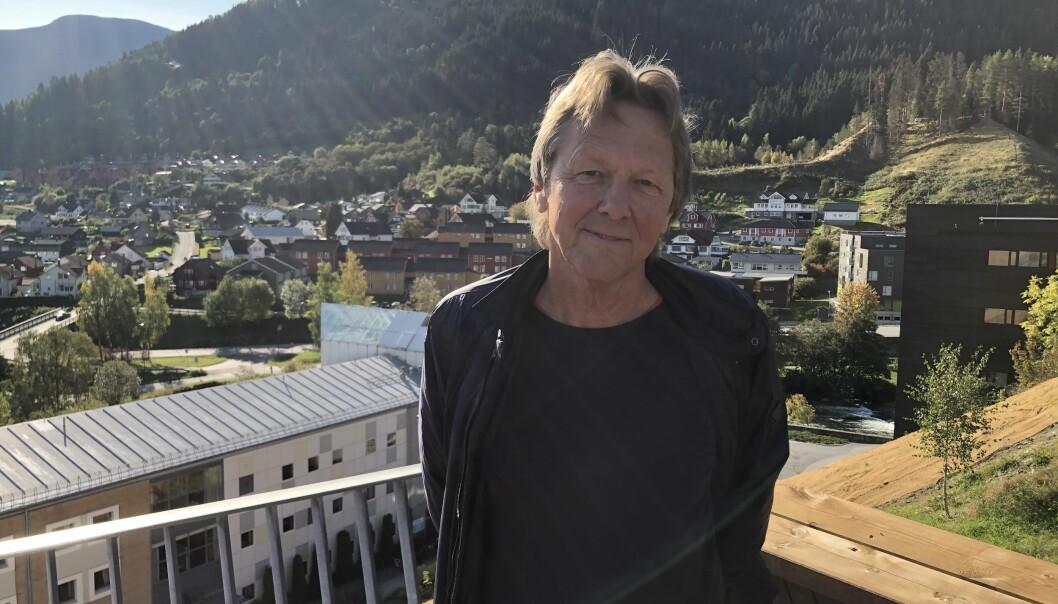 Betydningen av den regionale rollen har tapt for jaget etter akademisk kvalitet,Terje Erik Bjelle ved Høgskulen på Vestlandet, som har skrevet rapport om tre mindre studiesteder. Foto: Tove Lie