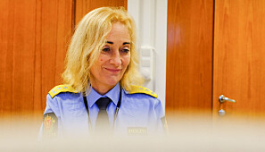 I skvis: Rektor ved Politihøgskolen, Nina Skarpenes. Foto: Torkjell Trædal