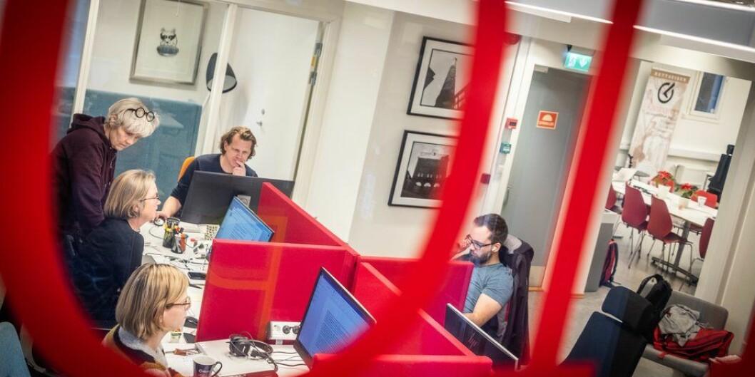 Khronos redaksjon i Oslo. Foto: Torkjell Trædal