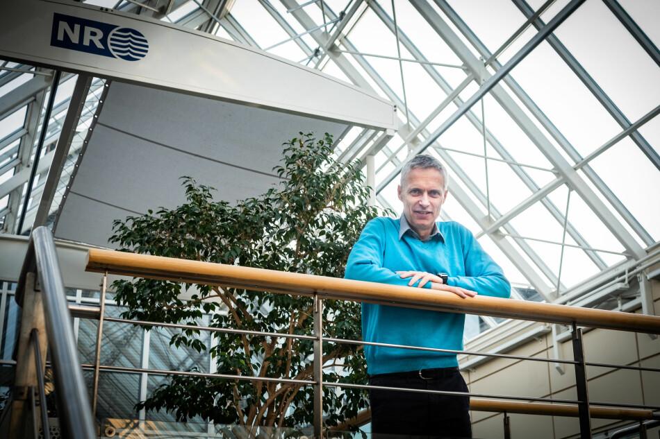Direktør for Norsk Regnesentral og styreleder i Forskningsinstituttenes Fellesarena, Lars Holden. Foto: Torkjell Trædal