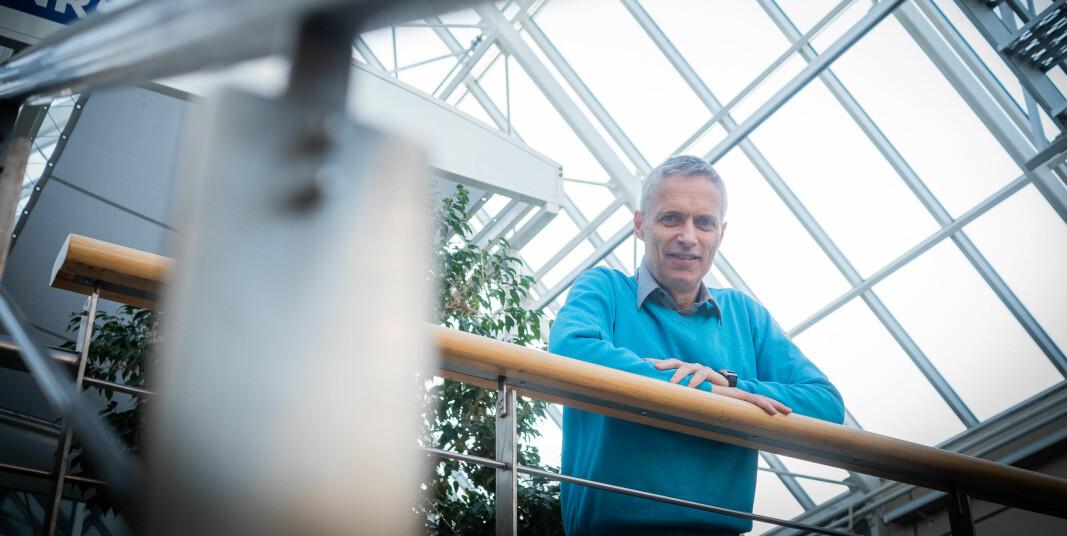 Direktør for Norsk Regnesentral og styreleder i Forskningsinstituttenes fellesarena, Lars Holden.