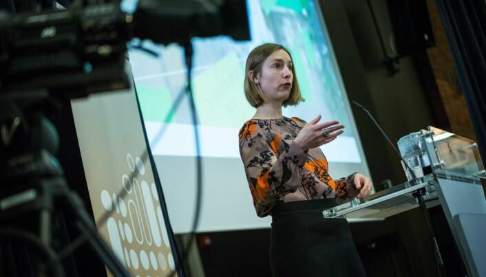 Forsknings- og høyere utdanningsminister Iselin Nybø. Foto: Siri Øverland Eriksen