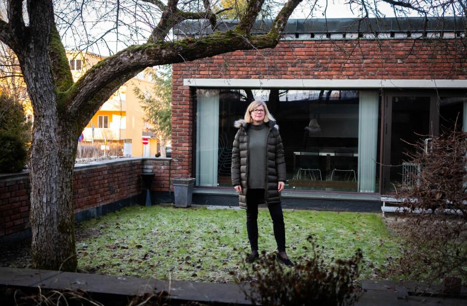 Tanja Storsul er direktør for Institutt for samfunnsforskning. Hun og de andre forskningsinstituttene stiller spørsmål ved veien videre etter avtalene med de fire store forlagene. Foto: Torkjell Trædal