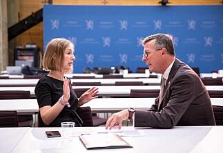Olsen reagerer på ny forskrift om minstekrav i 10 helseutdanninger