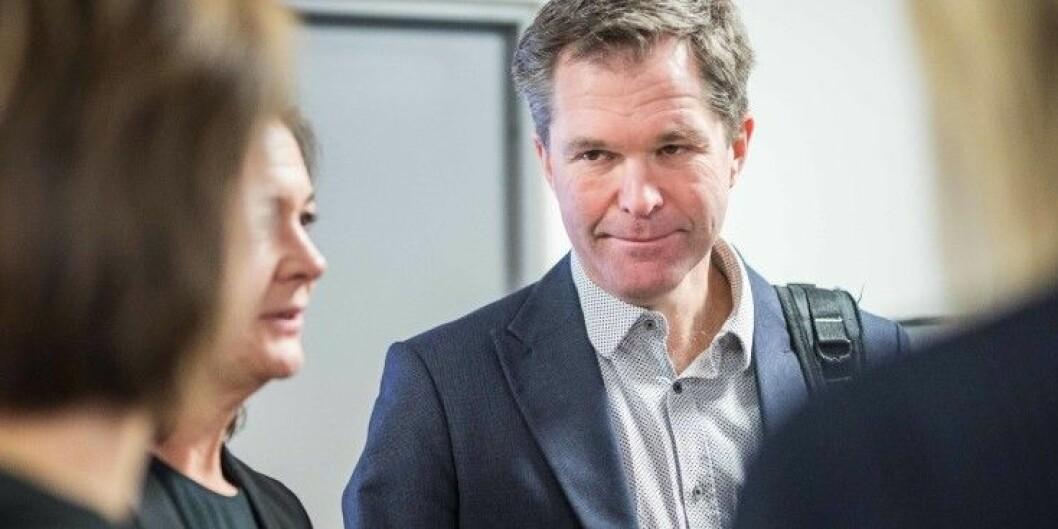 Forskingsrådsdirektør John-Arne Røttingen har store forventningar til dei som sender inn fire eller fleire søknader til Senter for framifrå forsking-ordninga. Foto: Ketil Blom Haugstulen