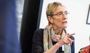 NTNU-rektor Anne Borg. Foto: Siri Øverland Eriksen