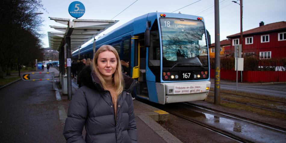 Leder for lektorprogrammets programutvalg ved Universitetet i Oslo, Vilde Johanne Snipstad, ønsker å få avklart om reiseutgifter til praksis i skoler går inn under gratisprinsippet. Foto: Mats Arnesen