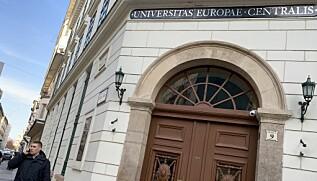 CEU flytter kjernevirksomhet ut av det historiske bygget i Budapest. Foto: Espen Løkeland-Stai