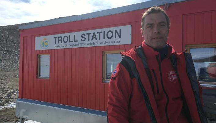 Bjerknes-direktør Tore Furevik ser gjerne at fleire aktørar enn Polarinstituttet har forskingsaktivitet i Dronning Mauds Land. Sjølv forska Furevik i havområda i Antarktis for 30 år sidan. Foto: privat