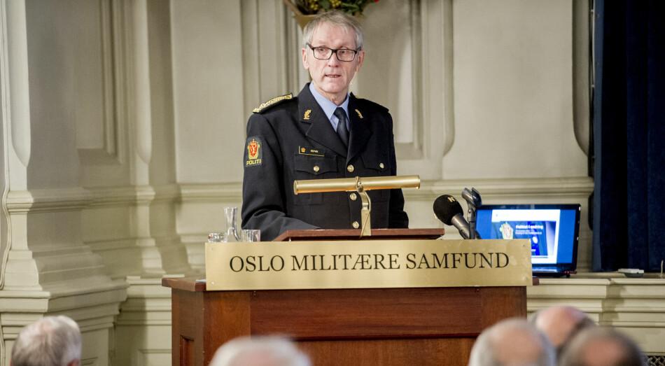 Tidligere assisterende politidirektør Vidar Refvik satte i gang prosjektet med å få skrevet norsk politihistorie. Nå reagerer flere på prosessen. Foto: Jon Olav Nesvold/NTB Scanpix