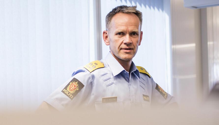 Polititopp signerte: Assisterende politidirektør og tidligere rektor ved Politihøgskolen Håkon Skulstad. Foto: Torkjell Trædal / Politiforum