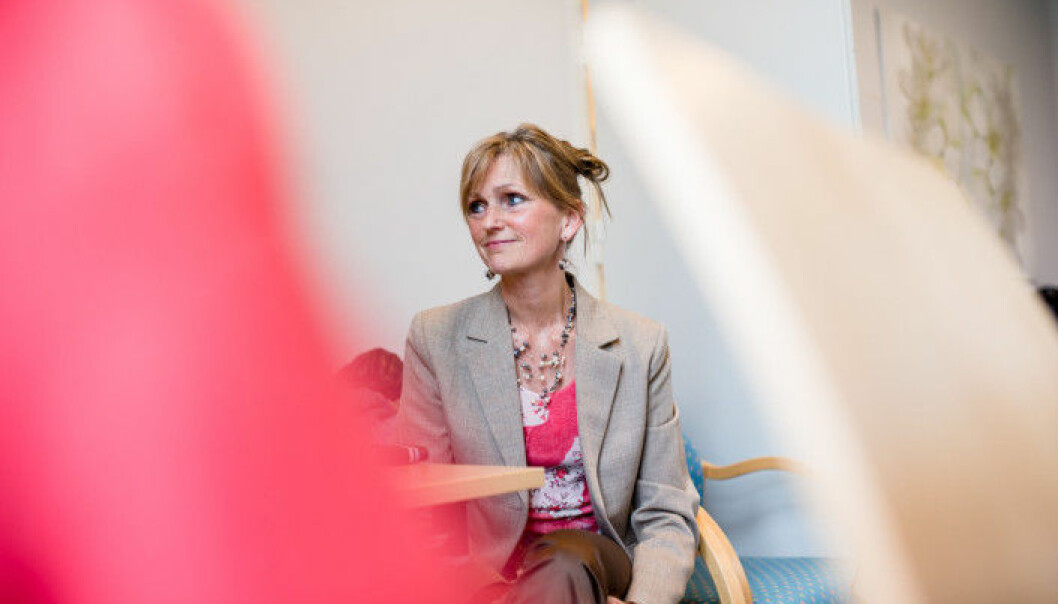 Førsteamanuensis Anne Lund ved OsloMet er en av søkerne på stillingen som professor i velferdsteknologi. Foto: Skjalg Bøhmer Vold