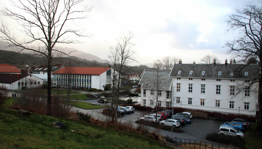 Campus Stord, Høgskulen på Vestlandet. Foto: Joar Hystad
