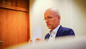 Styreleder ved Politihøgskolen, Hans Vik. Foto: Torkjell Trædal