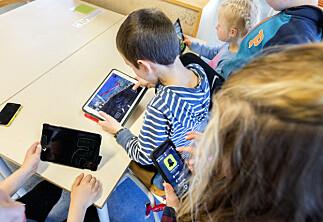 Mor om nettbrett i barnehagen: — Forskere gjør barn til prøvekaniner