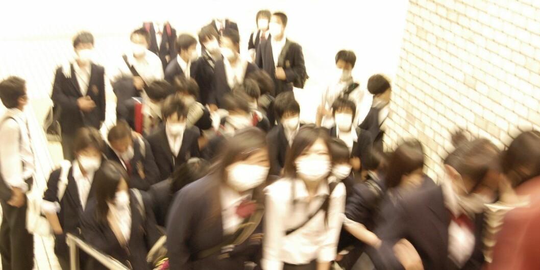 Hele verden følger med på Coronaviruset som har brutt ut i Kina. Foto:Flickr.com/musume miyuki
