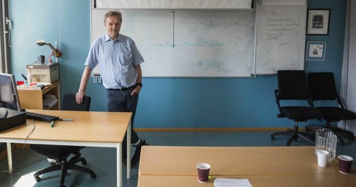 Jussprofessor Olav Torvund ved Universitetet i Oslo.
