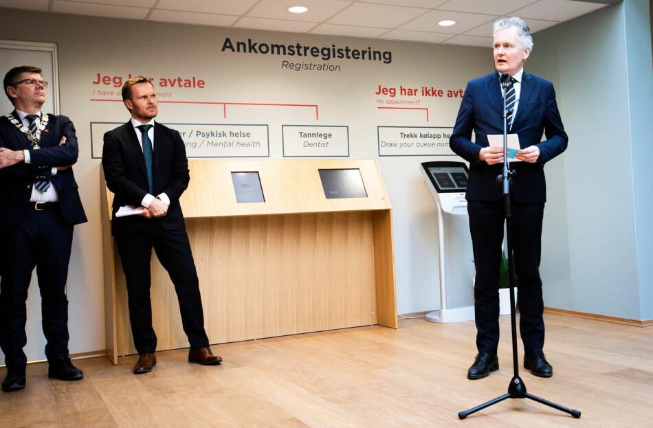 Universitetsdirekør Arne Benjaminsen fikk et solid underskudd i fanget. Nå har han søkt råd. Foto: Runhild Heggem