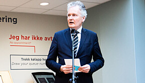 Universitetsdirektør Arne Benjaminsen håper regjeringa har ekstra pengar på løyve til bygget.