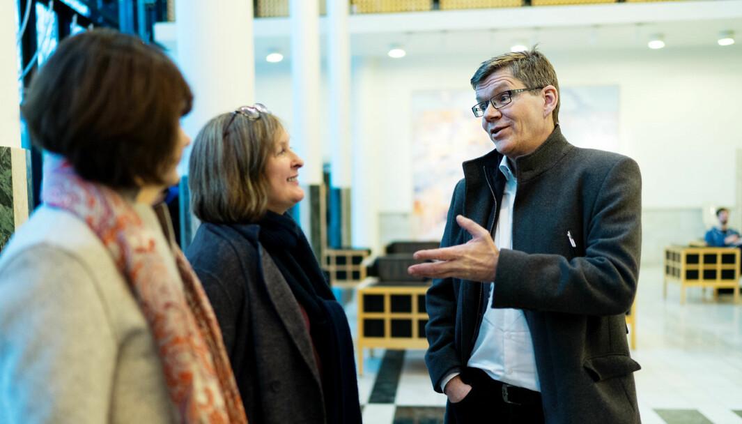 Viserektor Åse Gornitzka (t.v.) og rektor Svein Stølen ved Universitetet i Oslo skriver at vi trenger en kunnskapsberedskap for at demokratiet skal være i stand til å løse fremtidens utfordringer.