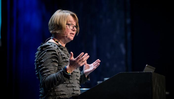 Prorektor for utdanning, Berit Kjeldstad.
