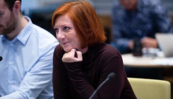 Kjersti Møller under styremøte ved NTNU i september 2019