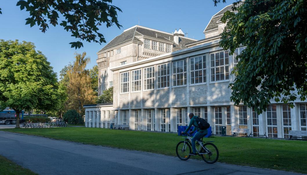 Campus på NTNU.