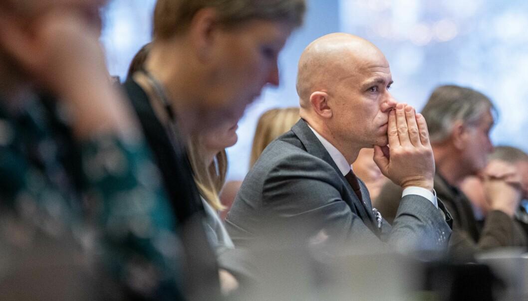 — De tar hele Viken i ett jafs, alt fra Halden til Geilo. Det er store variasjoner her, sier Lars-Petter Jelsness-Jørgensen.