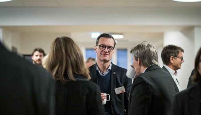 Universitetsdirektør Jørgen Fossland understreker at det er styret som har ønsket å ta en beslutning om ledelsesmodell for neste rektorperiode.