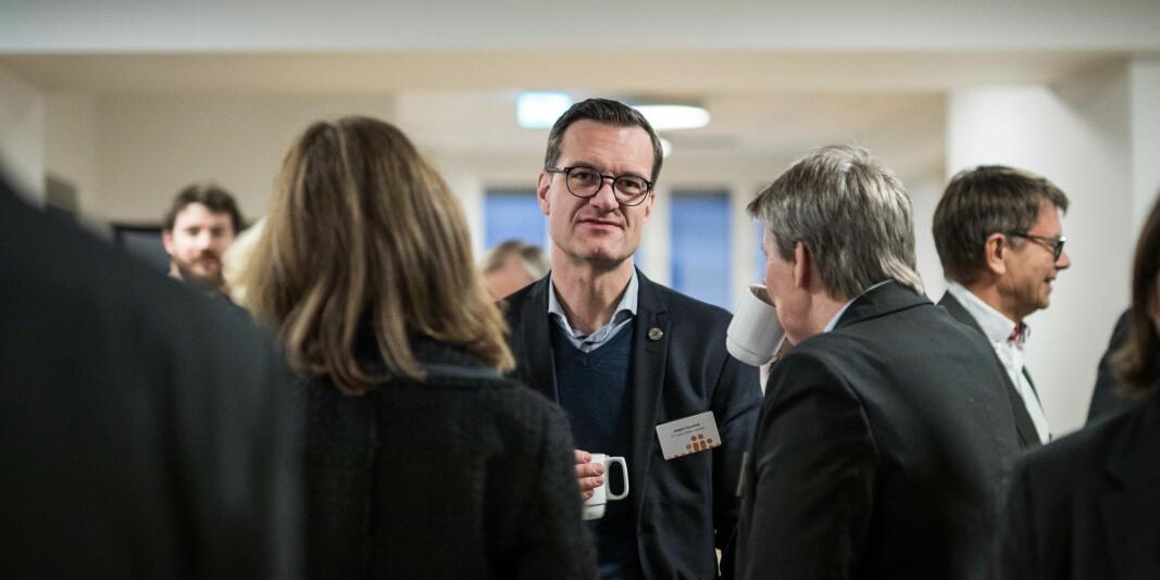 Universitetsdirektør ved UiT, .Jørgen Fossland, anbefaler verken den ene eller andre ledelsesmodellen for universitetsstyret.
