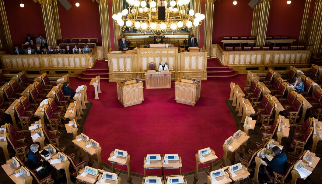 Stortingspolitikerne har nevnt de statlige universitetene og høgskolene 249 ganger i stortingssalen og i skriftlige spørsmål i 2020.