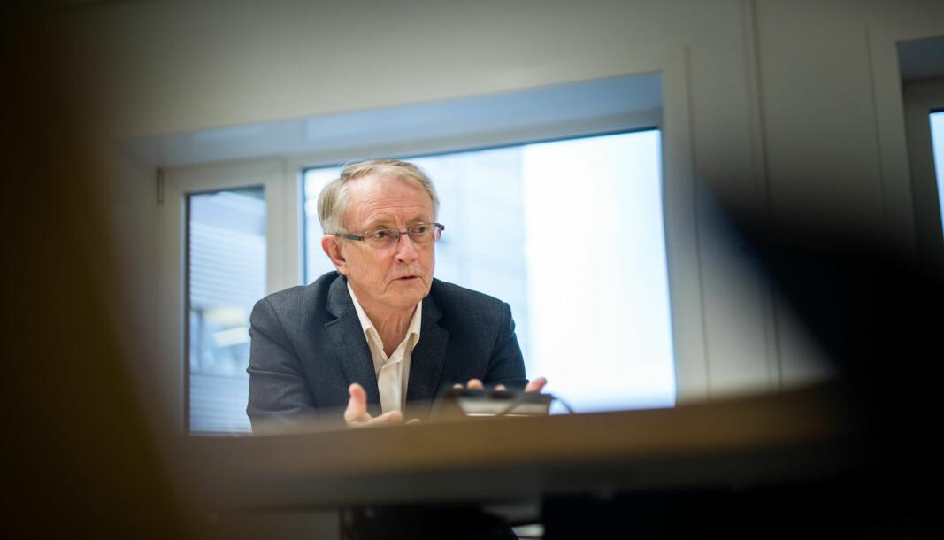 Arvid Hallén skal lede høstens andre styremøte ved Høgskulen på Vestlandet torsdag.