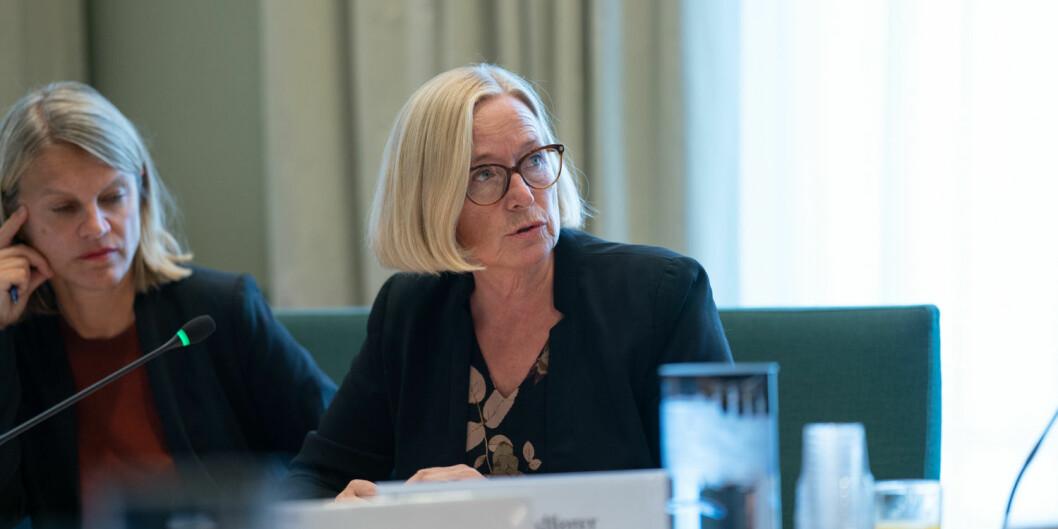 Marit Arnstad (Sp) er blant dem som mener at Forskningsrådet ikke skal ta oppdrag for private. Foto: Ketil Blom Haugstulen