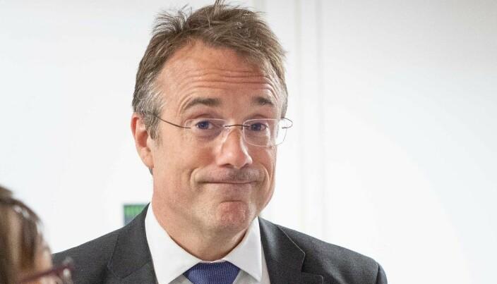 Rektor Johann Roppen er glad for at det ser ut til at arbeidsmiljøet ved Avdeling for mediefag er i betring.