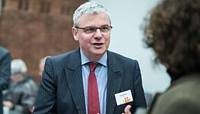 Direktør i Diku, Harald Nybølet.