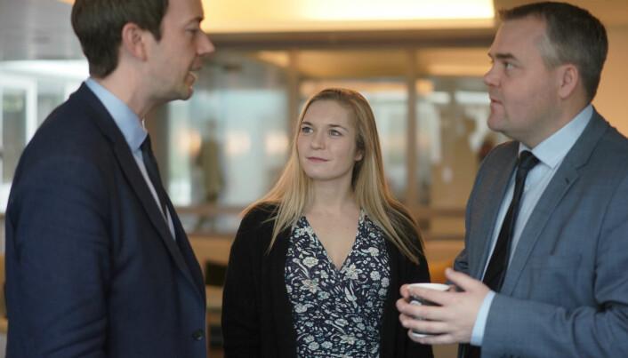 Mathilde Tybring-Gjedde (H) opplyser at det ses på muligheter for stipendordninger for studenter som skal til Storbritannia..