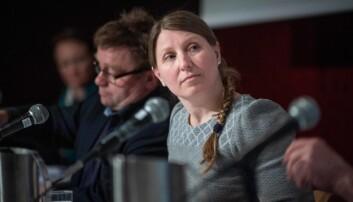 Guro Elisabeth Lind i Forkerforbundet mener foreslått kutt i lønnsvekst er en merkelig prioritering.