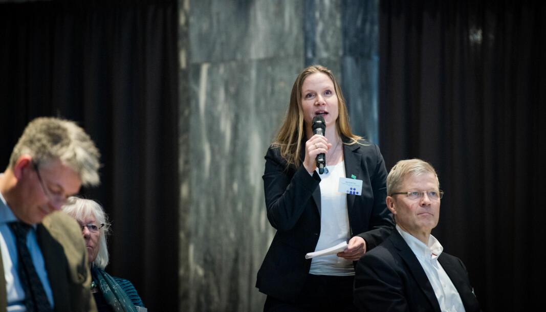 Administrerende direktør i Forskningsrådet, Mari Sundli Tveit, ønsker data på hvordan pandemien har påvirket forskningssektoren i Norge.