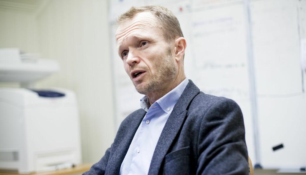 Kristian Steinnes kan få plass i Forskerbundets hovedstyre.