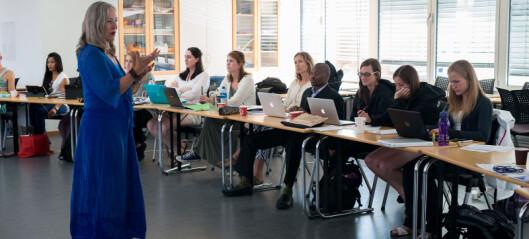 Nå kan utenlandske studenter komme til Norge