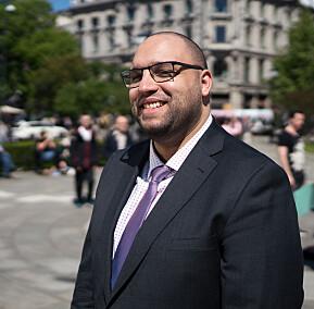 Amine Fquihi, president i ISU Norway.