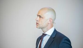 Oslo 20190528 - Lars-Petter Jelsness-Jørgensen, er sittende rektor i Østfold og vurderer å søke ny fireårsperiode. Foto: Siri Øverland Eriksen