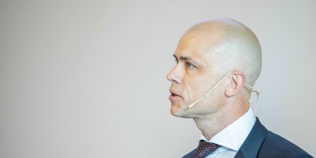 Lars-Petter Jelsness-Jørgensen, rektor ved Høgskolen i Østfold og professor i helsevitenskap.