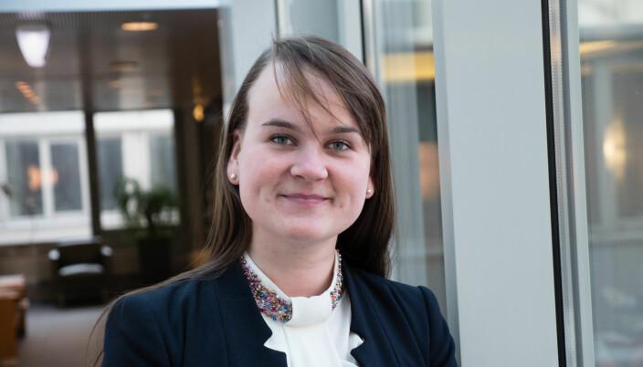 Marit Knutsdatter Strand (Senterpartiet) vil ha mer satsing på desentral utdanning.
