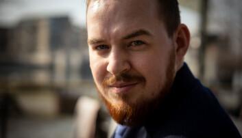 Lederkandidat Daniel Hansen Masvik fra UiT